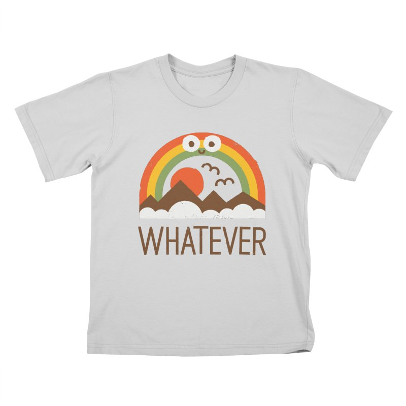 Yawn of a New Day Kids T-Shirt by David Olenick