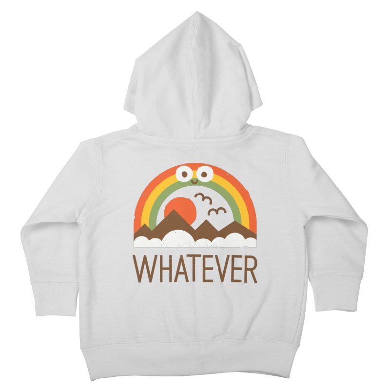 Yawn of a New Day Kids Toddler Zip-Up Hoody by David Olenick