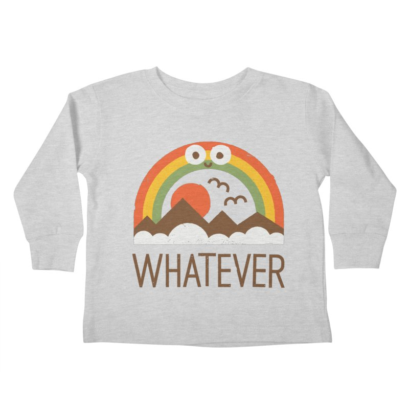 Yawn of a New Day Kids Toddler Longsleeve T-Shirt by David Olenick