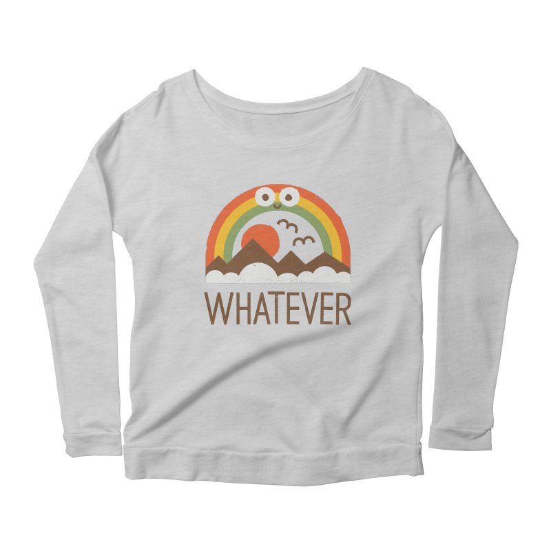 Yawn of a New Day Women's Scoop Neck Longsleeve T-Shirt by David Olenick