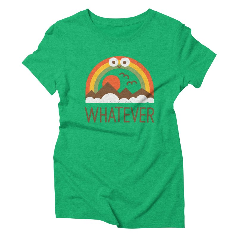 Yawn of a New Day Women's Triblend T-Shirt by David Olenick