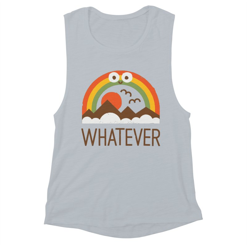 Yawn of a New Day Women's Muscle Tank by David Olenick