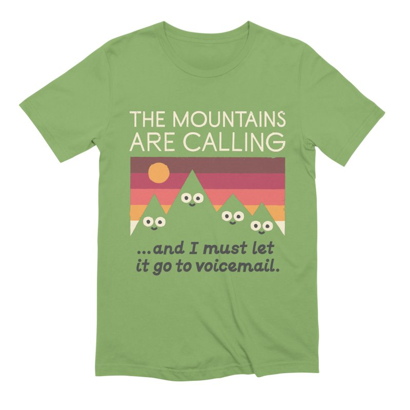The Hills Have Eyes Men's Extra Soft T-Shirt by David Olenick