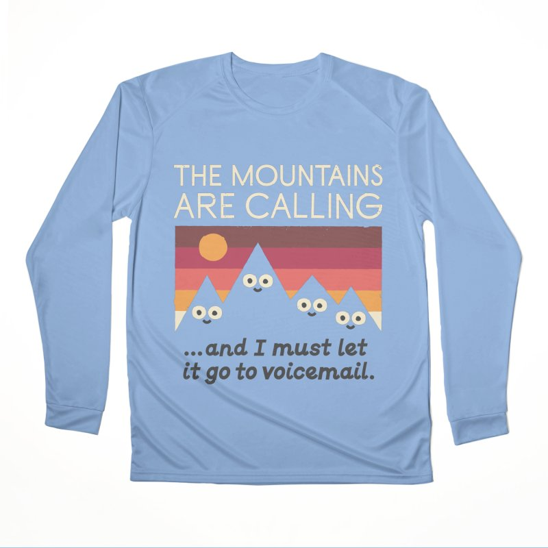 The Hills Have Eyes Men's Performance Longsleeve T-Shirt by David Olenick