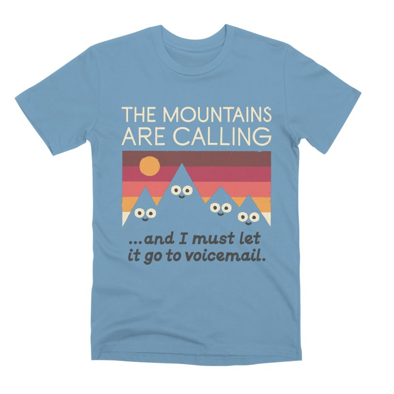 The Hills Have Eyes Men's Premium T-Shirt by David Olenick