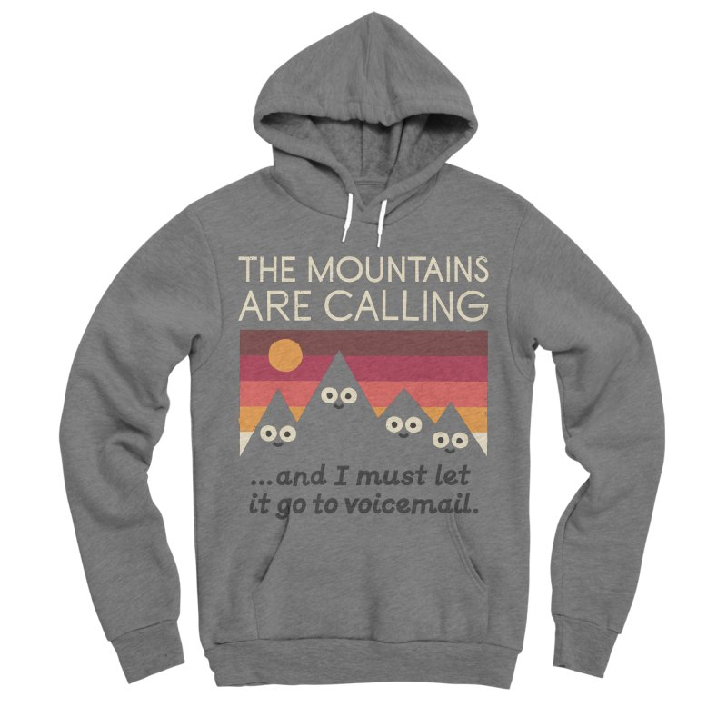 The Hills Have Eyes Men's Sponge Fleece Pullover Hoody by David Olenick