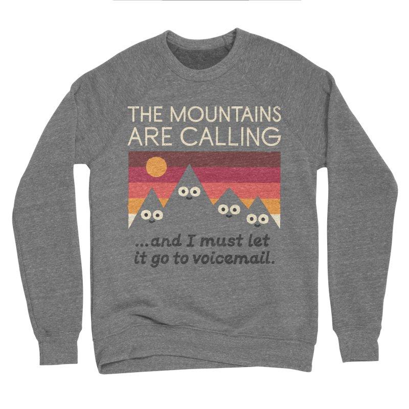 The Hills Have Eyes Men's Sponge Fleece Sweatshirt by David Olenick