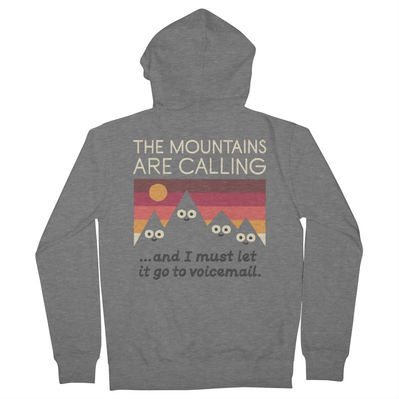 The Hills Have Eyes Women's French Terry Zip-Up Hoody by David Olenick