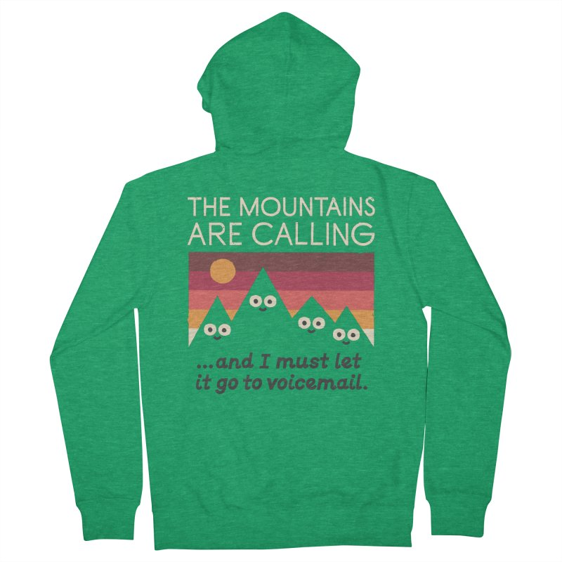 The Hills Have Eyes Men's French Terry Zip-Up Hoody by David Olenick
