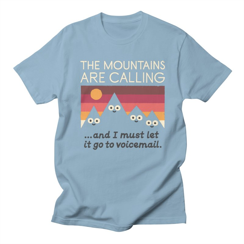 The Hills Have Eyes Men's Regular T-Shirt by David Olenick