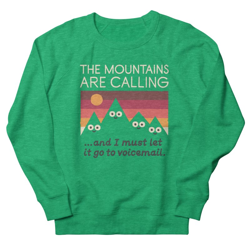 The Hills Have Eyes Men's French Terry Sweatshirt by David Olenick