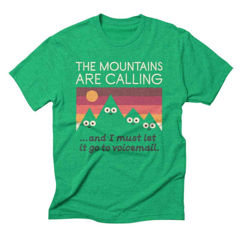 The Hills Have Eyes Men's Triblend T-Shirt by David Olenick