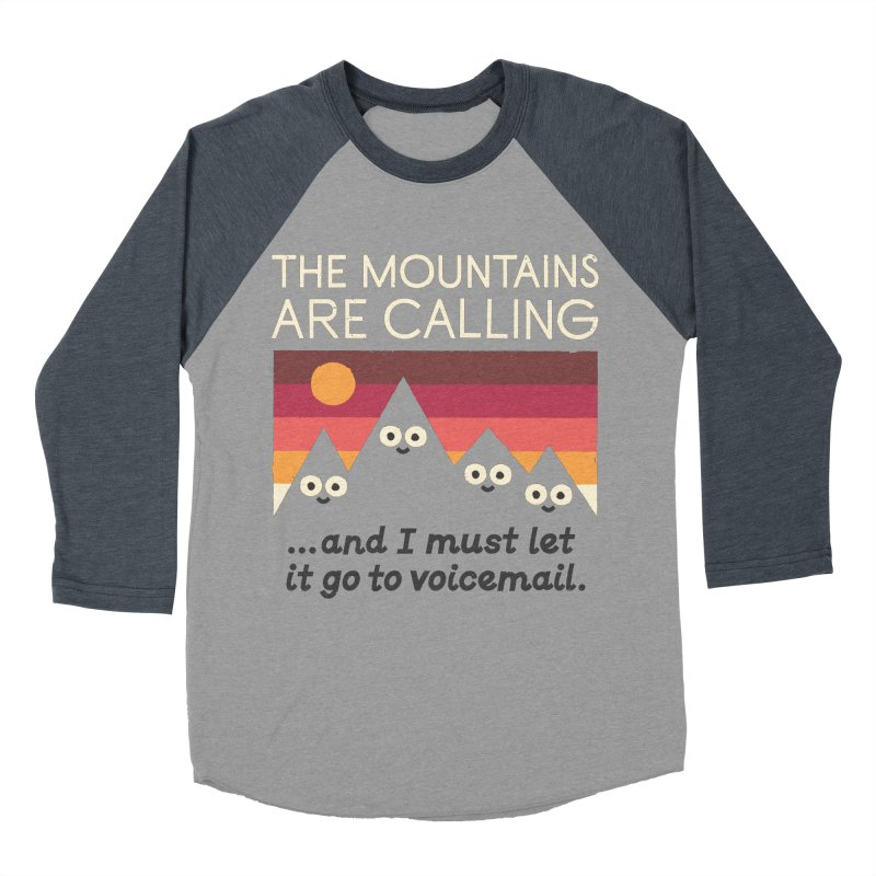 The Hills Have Eyes Men's Baseball Triblend Longsleeve T-Shirt by David Olenick