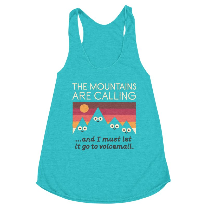 The Hills Have Eyes Women's Racerback Triblend Tank by David Olenick