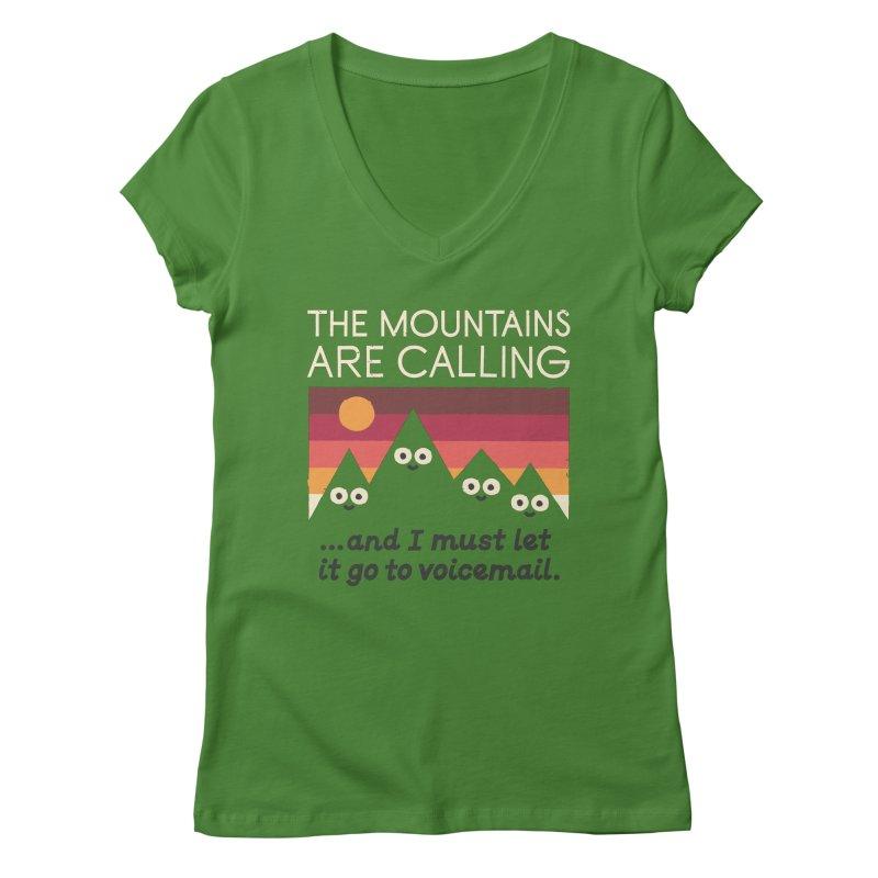 The Hills Have Eyes Women's Regular V-Neck by David Olenick