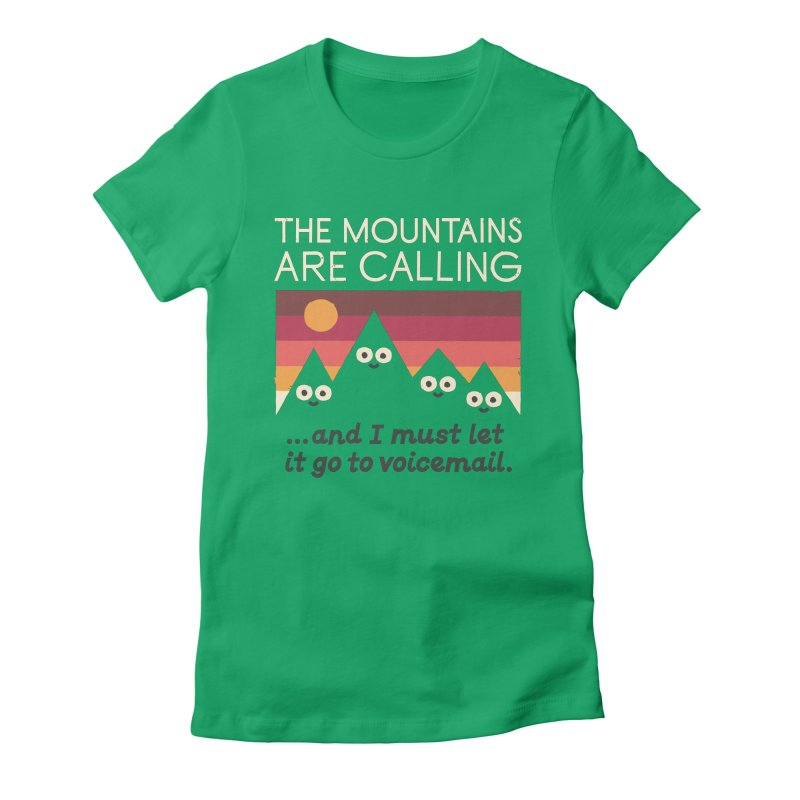 The Hills Have Eyes Women's Fitted T-Shirt by David Olenick