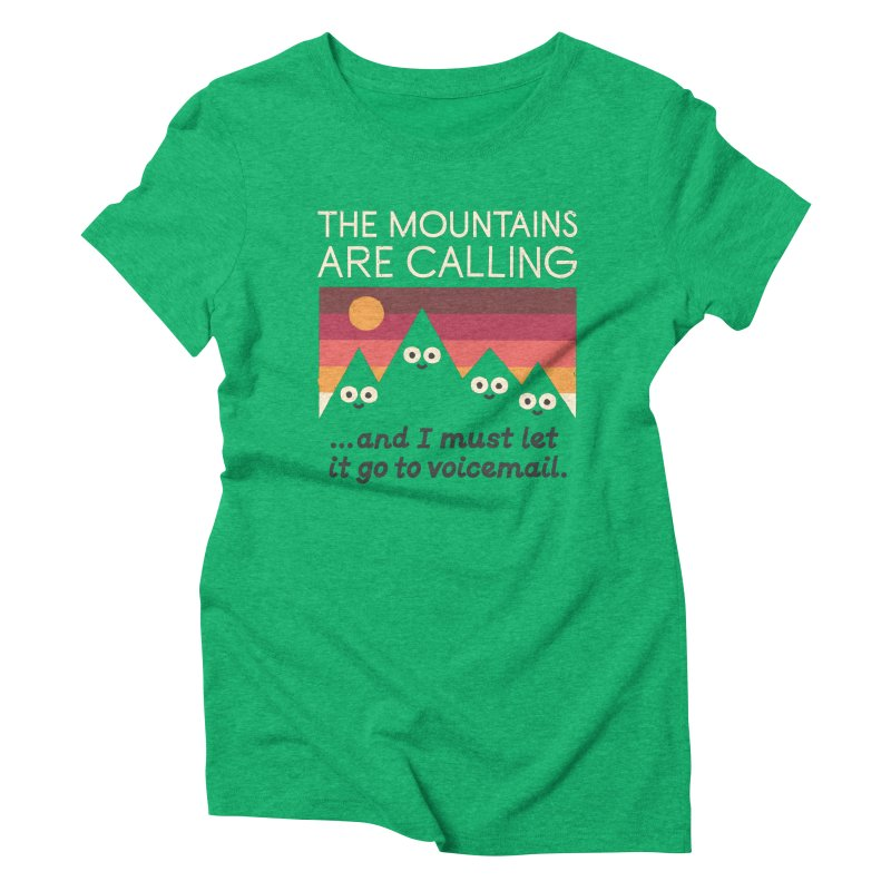 The Hills Have Eyes Women's Triblend T-Shirt by David Olenick