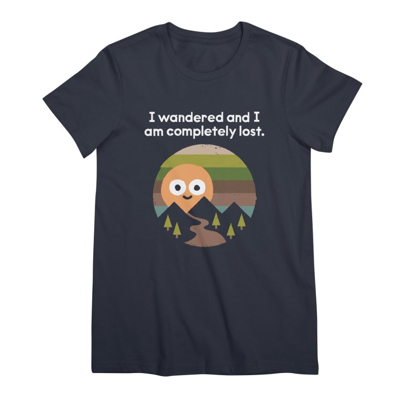 Recalculating Women's Premium T-Shirt by David Olenick