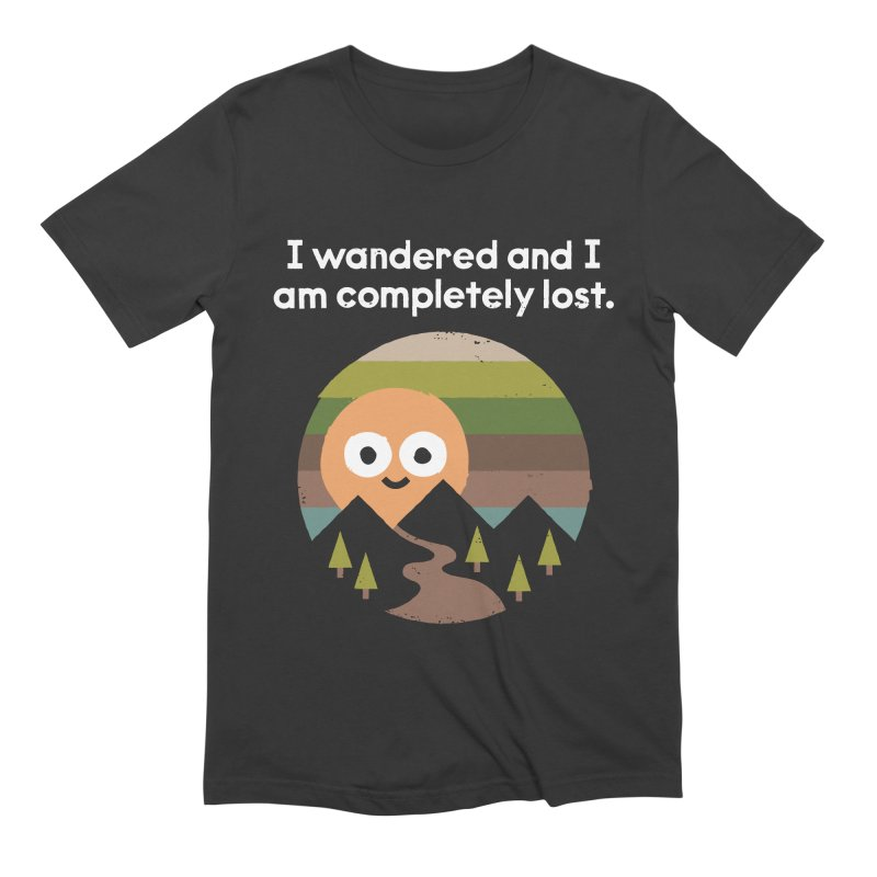 Recalculating Men's Extra Soft T-Shirt by David Olenick