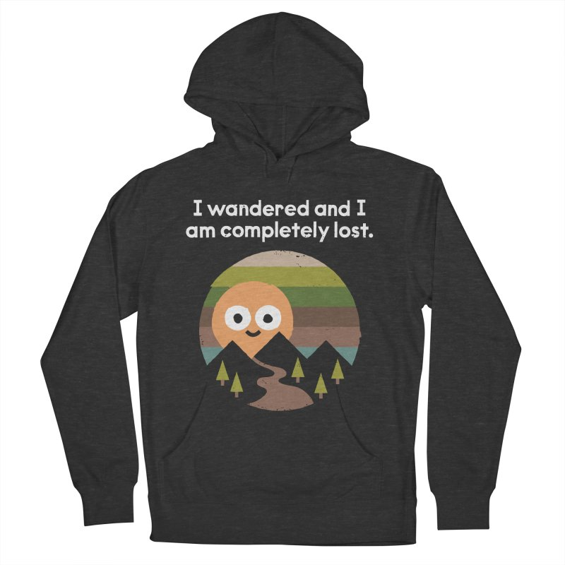 Recalculating Men's French Terry Pullover Hoody by David Olenick