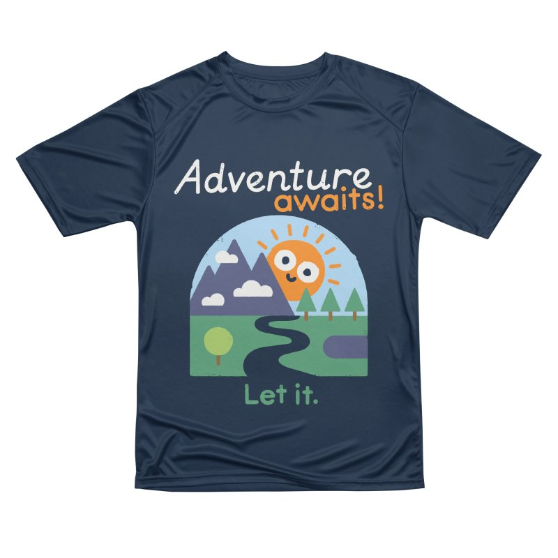 The Road Not Taken Men's Performance T-Shirt by David Olenick