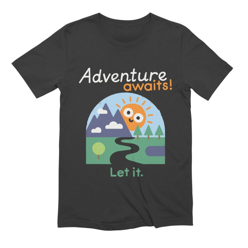 The Road Not Taken Men's Extra Soft T-Shirt by David Olenick