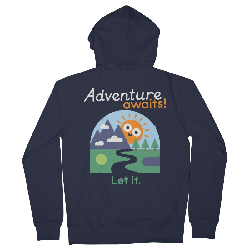 The Road Not Taken Women's Zip-Up Hoody by David Olenick