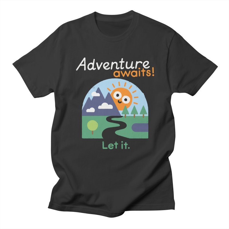The Road Not Taken Men's T-Shirt by David Olenick