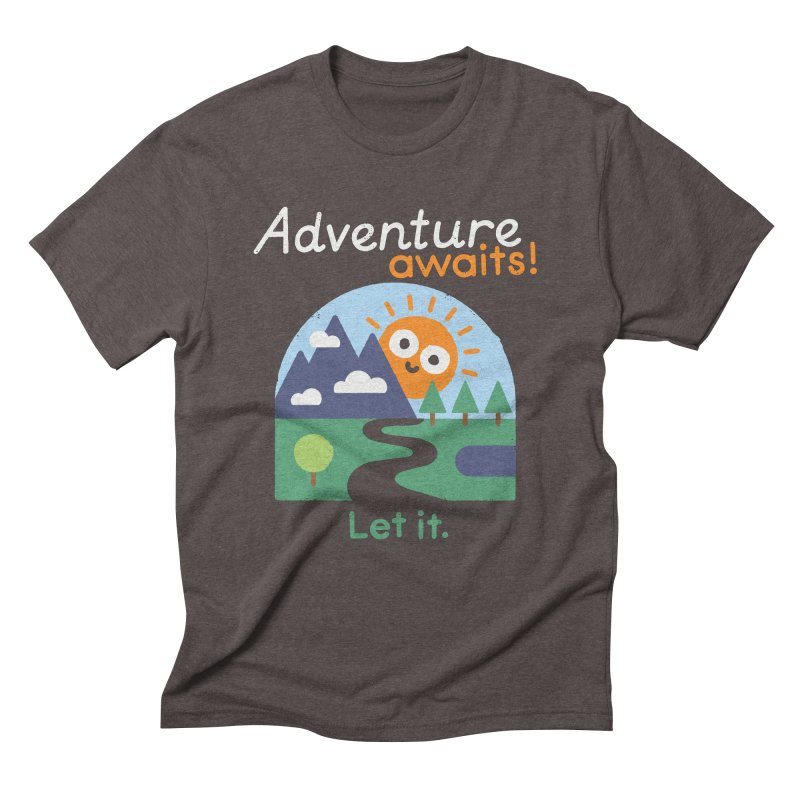 The Road Not Taken Men's Triblend T-Shirt by David Olenick