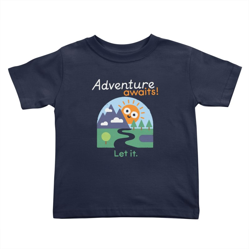 The Road Not Taken Kids Toddler T-Shirt by David Olenick