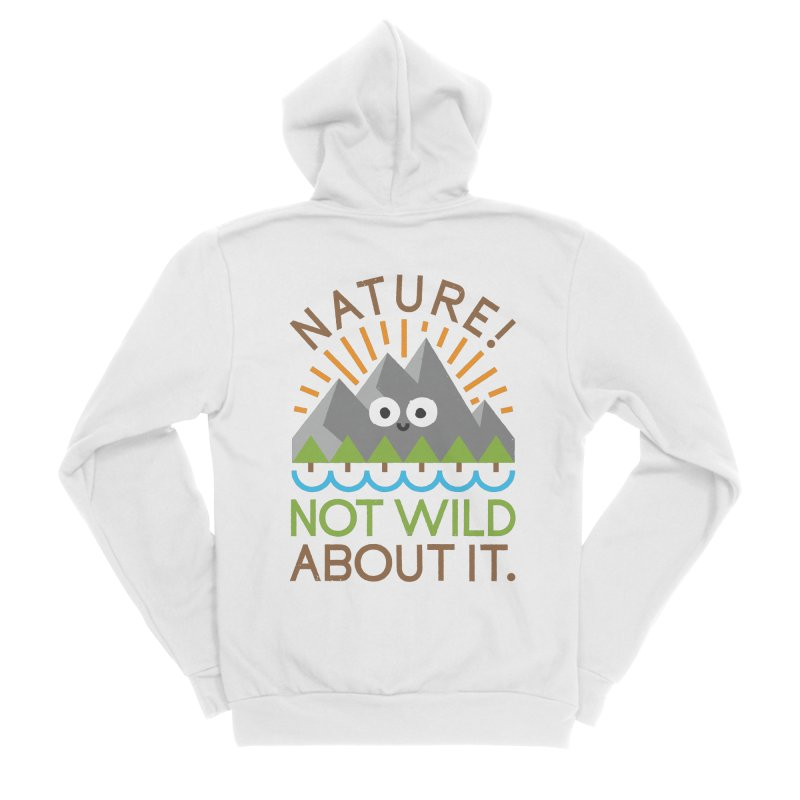 The Inside Story Men's Sponge Fleece Zip-Up Hoody by David Olenick