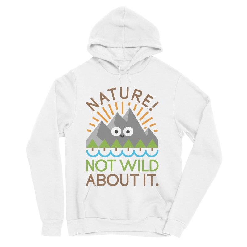 The Inside Story Men's Sponge Fleece Pullover Hoody by David Olenick