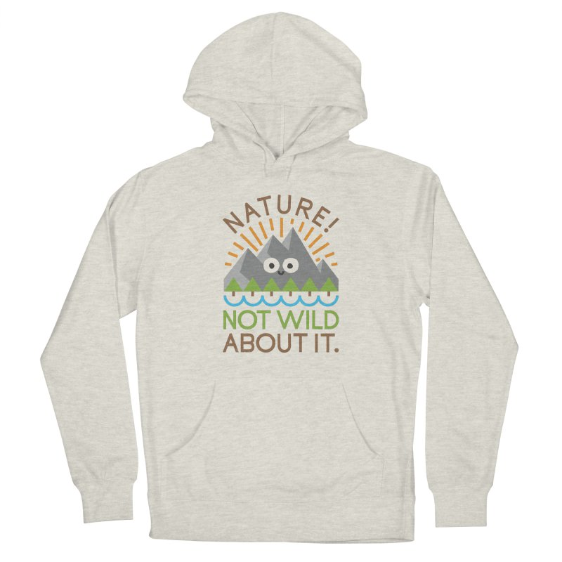 The Inside Story Women's French Terry Pullover Hoody by David Olenick