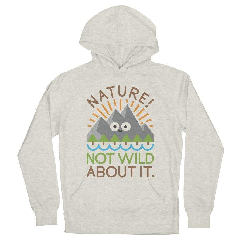 The Inside Story Men's French Terry Pullover Hoody by David Olenick
