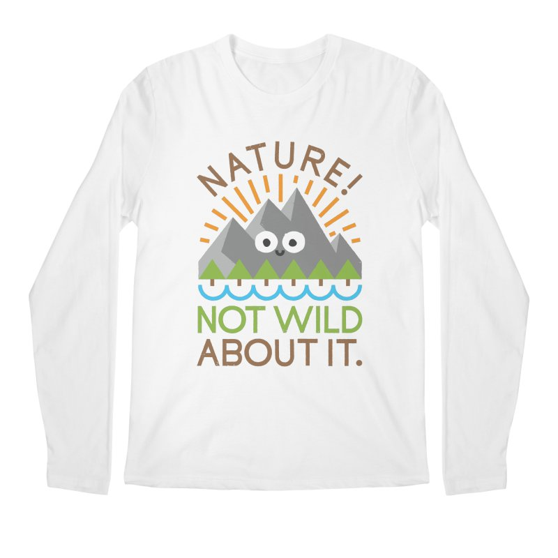 The Inside Story Men's Regular Longsleeve T-Shirt by David Olenick
