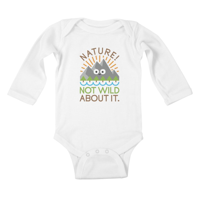 The Inside Story Kids Baby Longsleeve Bodysuit by David Olenick