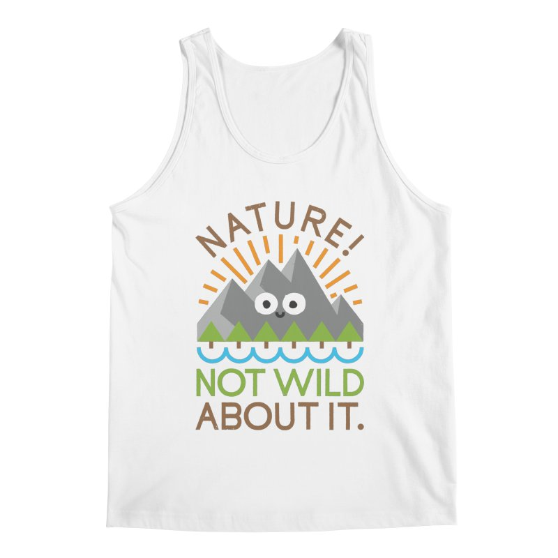 The Inside Story Men's Regular Tank by David Olenick