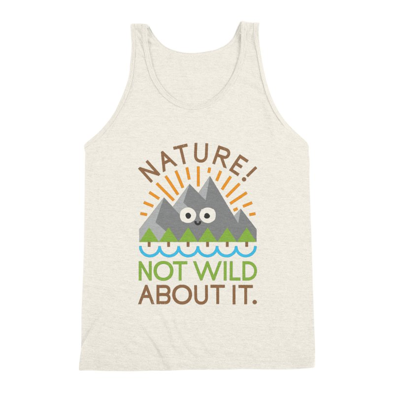 The Inside Story Men's Triblend Tank by David Olenick
