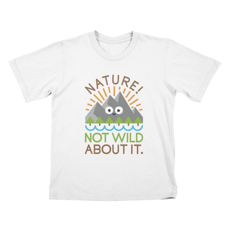 The Inside Story Kids T-Shirt by David Olenick