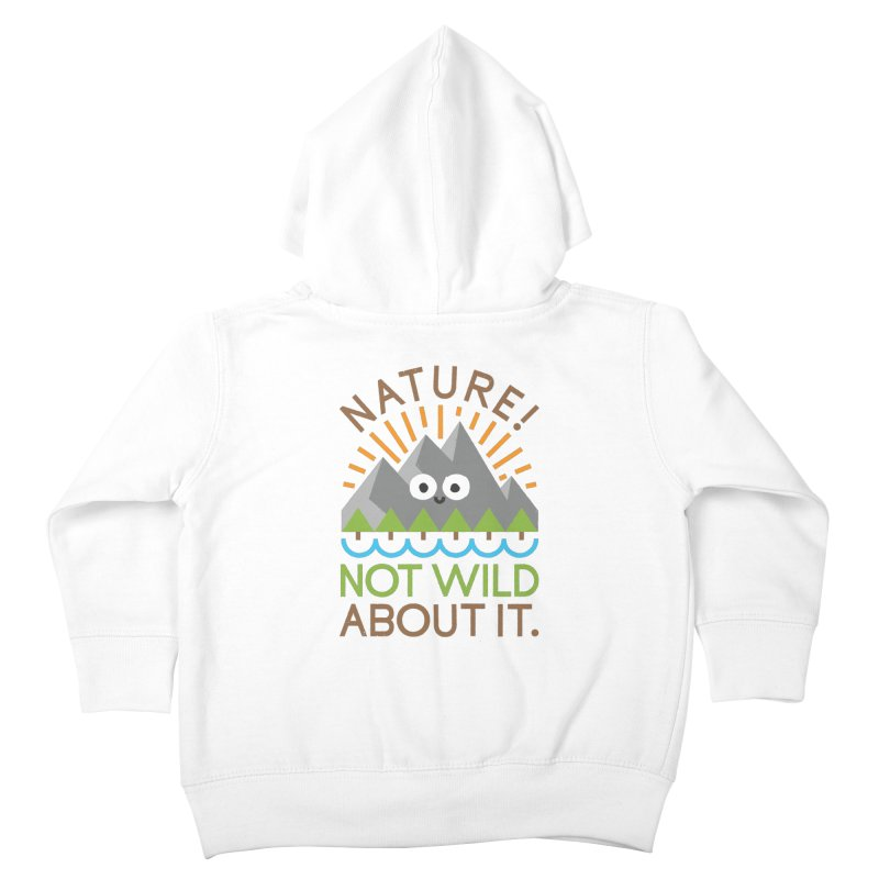 The Inside Story Kids Toddler Zip-Up Hoody by David Olenick