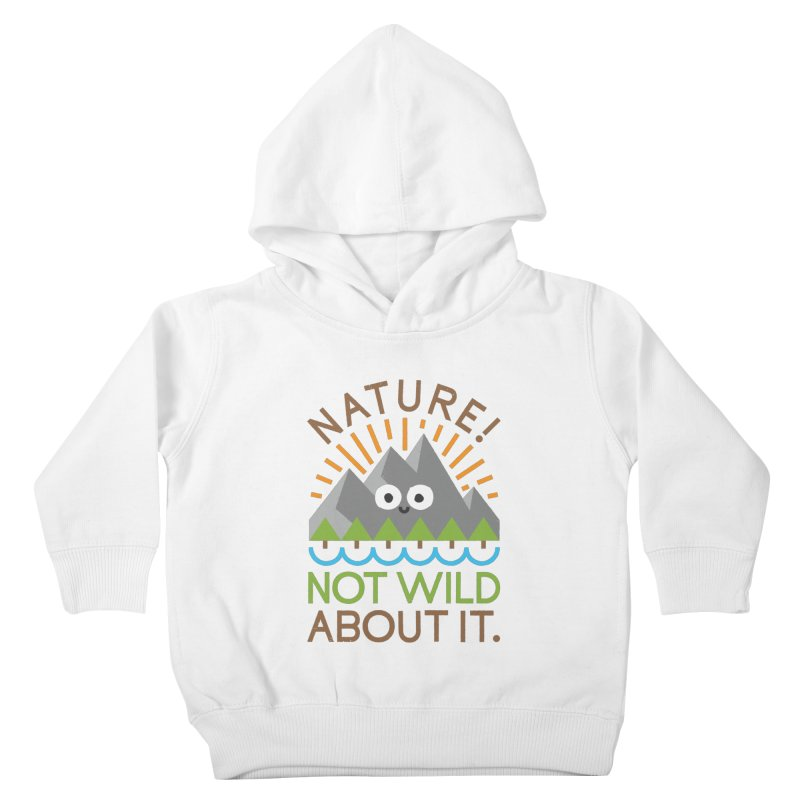 The Inside Story Kids Toddler Pullover Hoody by David Olenick