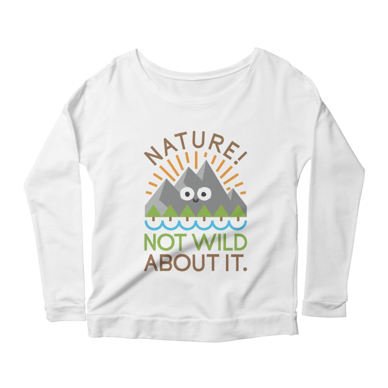 The Inside Story Women's Scoop Neck Longsleeve T-Shirt by David Olenick