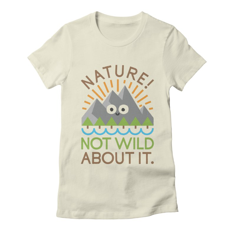 The Inside Story Women's Fitted T-Shirt by David Olenick