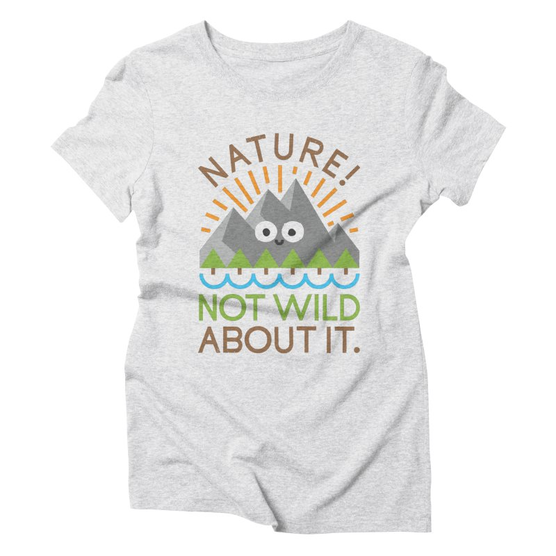 The Inside Story Women's Triblend T-Shirt by David Olenick