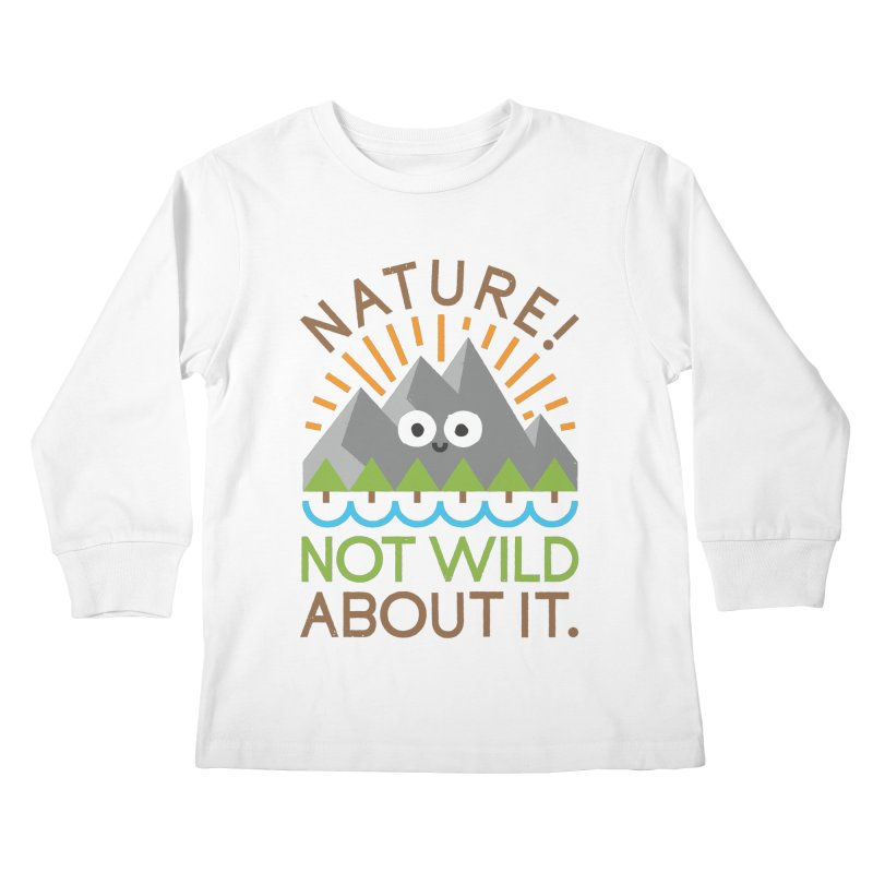 The Inside Story Kids Longsleeve T-Shirt by David Olenick