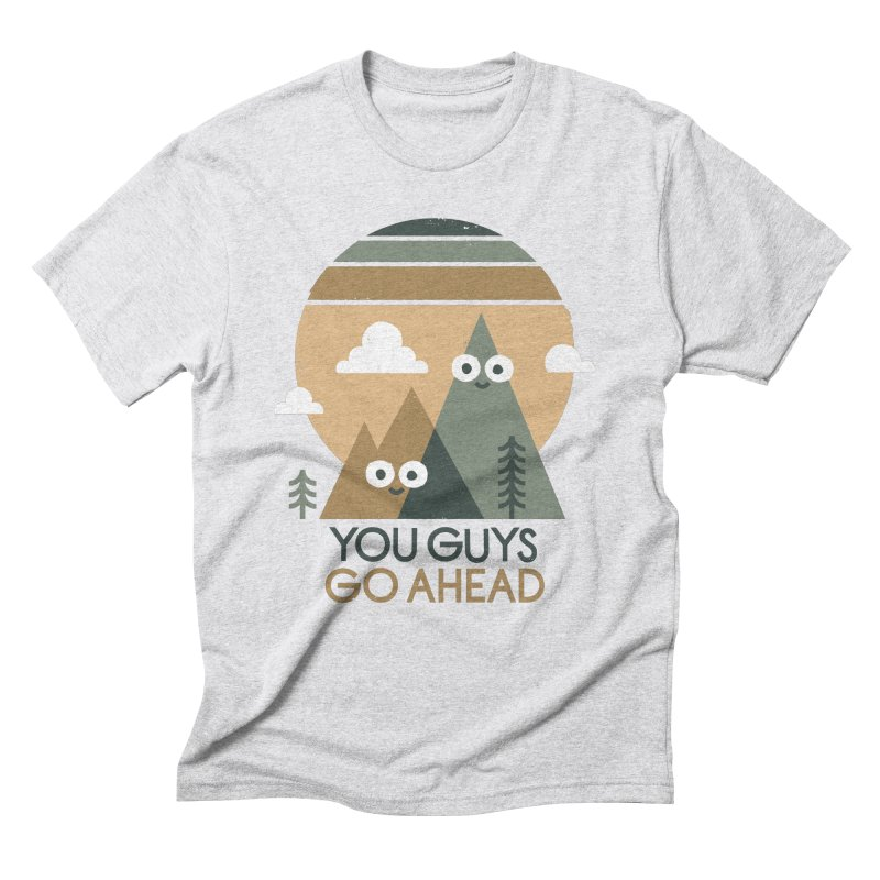 Mountain Don't Men's Triblend T-Shirt by David Olenick