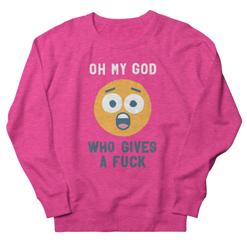 Oh, the Mundanity! Men's French Terry Sweatshirt by David Olenick