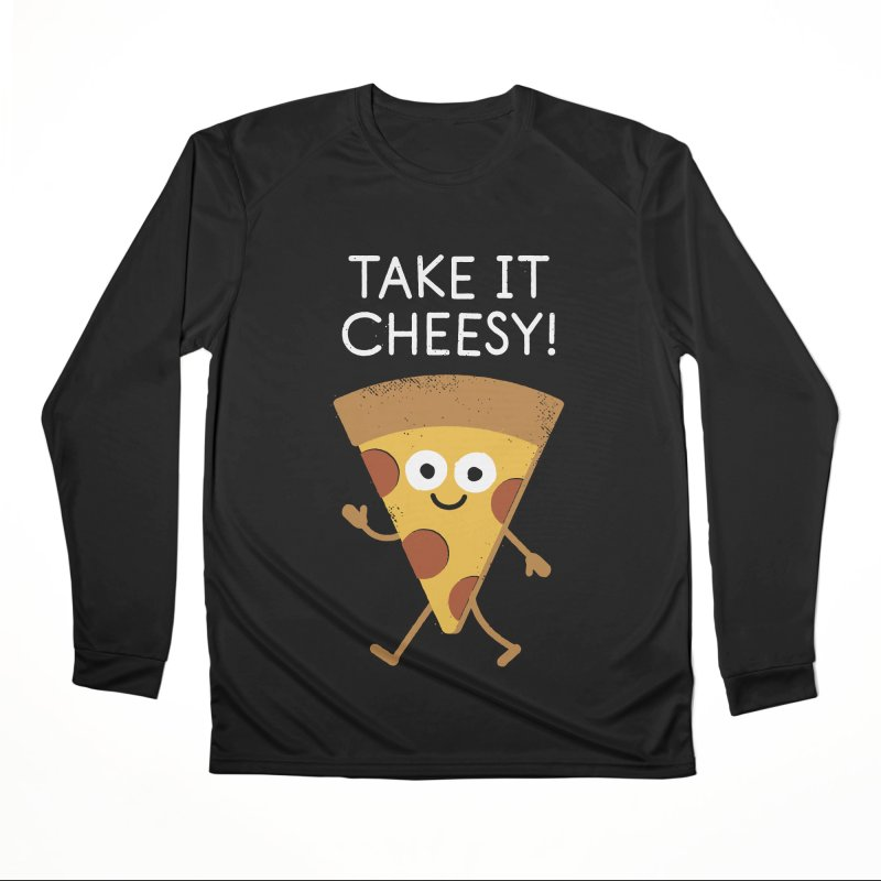 Chill Out, Order In Men's Performance Longsleeve T-Shirt by David Olenick