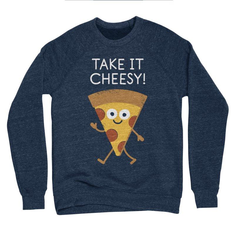 Chill Out, Order In Men's Sponge Fleece Sweatshirt by David Olenick