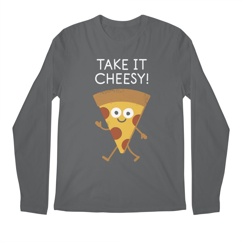 Chill Out, Order In Men's Regular Longsleeve T-Shirt by David Olenick